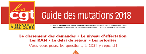Guide CGT des mutations 2018